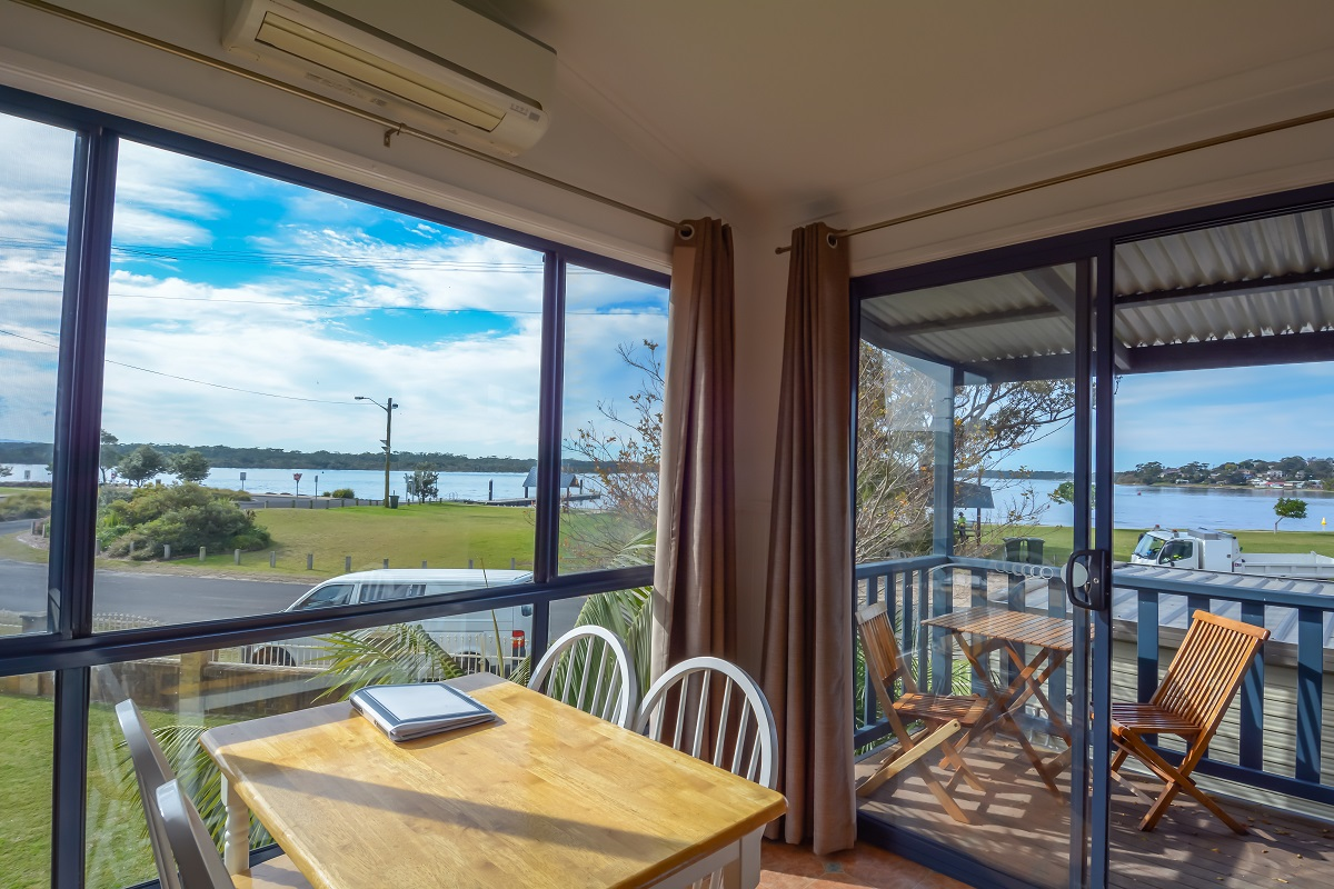 two bedroom waterview cabins on the nsw south coast