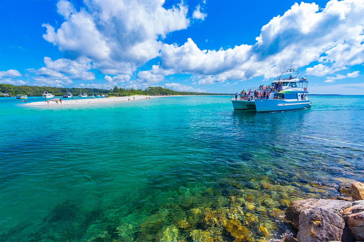 South Coast Tour Cruise Jervis Bay