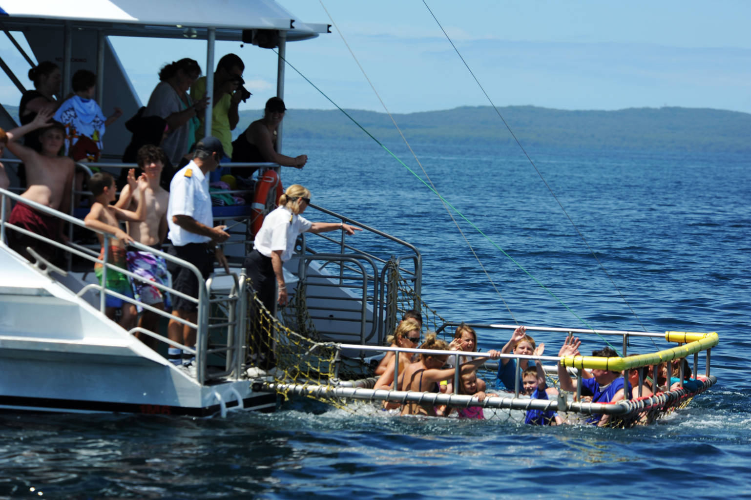 Boom Netting in Jervis Bay