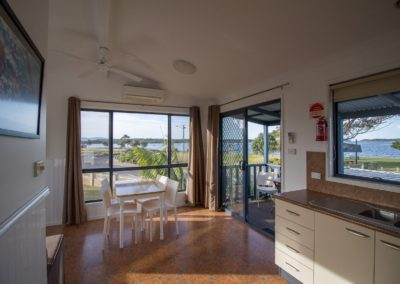 Waterview Two Bedroom Cabin, Kitchen and Dining s