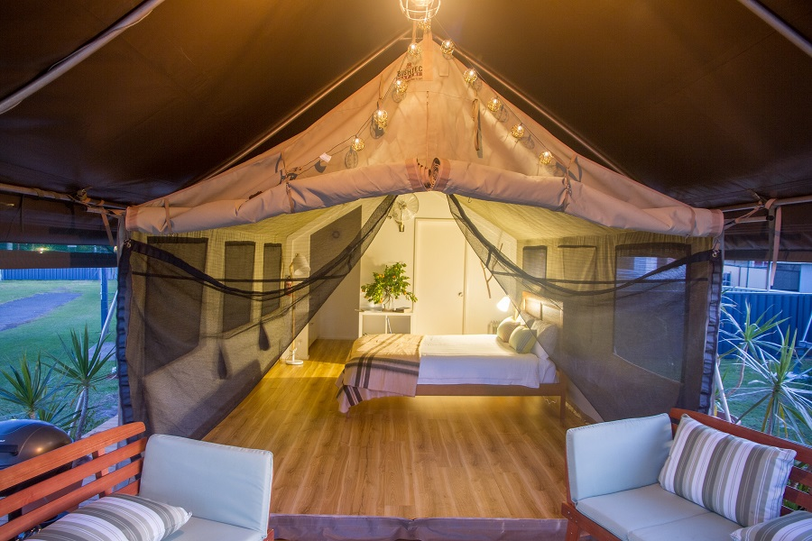 Glamping on the NSW South Coast