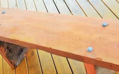 Eco Friendly Initiatives – Recycled Timber Benches