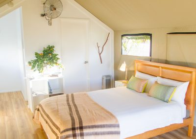 Safari Tent with queen bed
