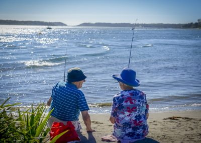 Social fishing at Greenwell Point